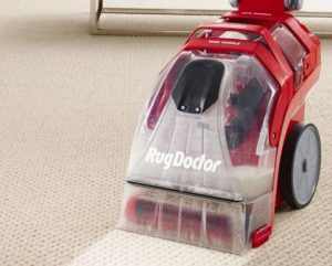 Rug Doctor Deep Carpet Cleaner in the Field